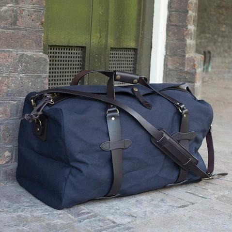 Filson Duffle Small Navy 11070220, perfecte tas voor een weekend weg
