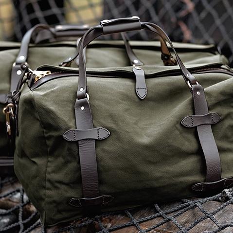 Filson Duffle Small Otter Green 11070220, perfecte tas voor een weekend weg