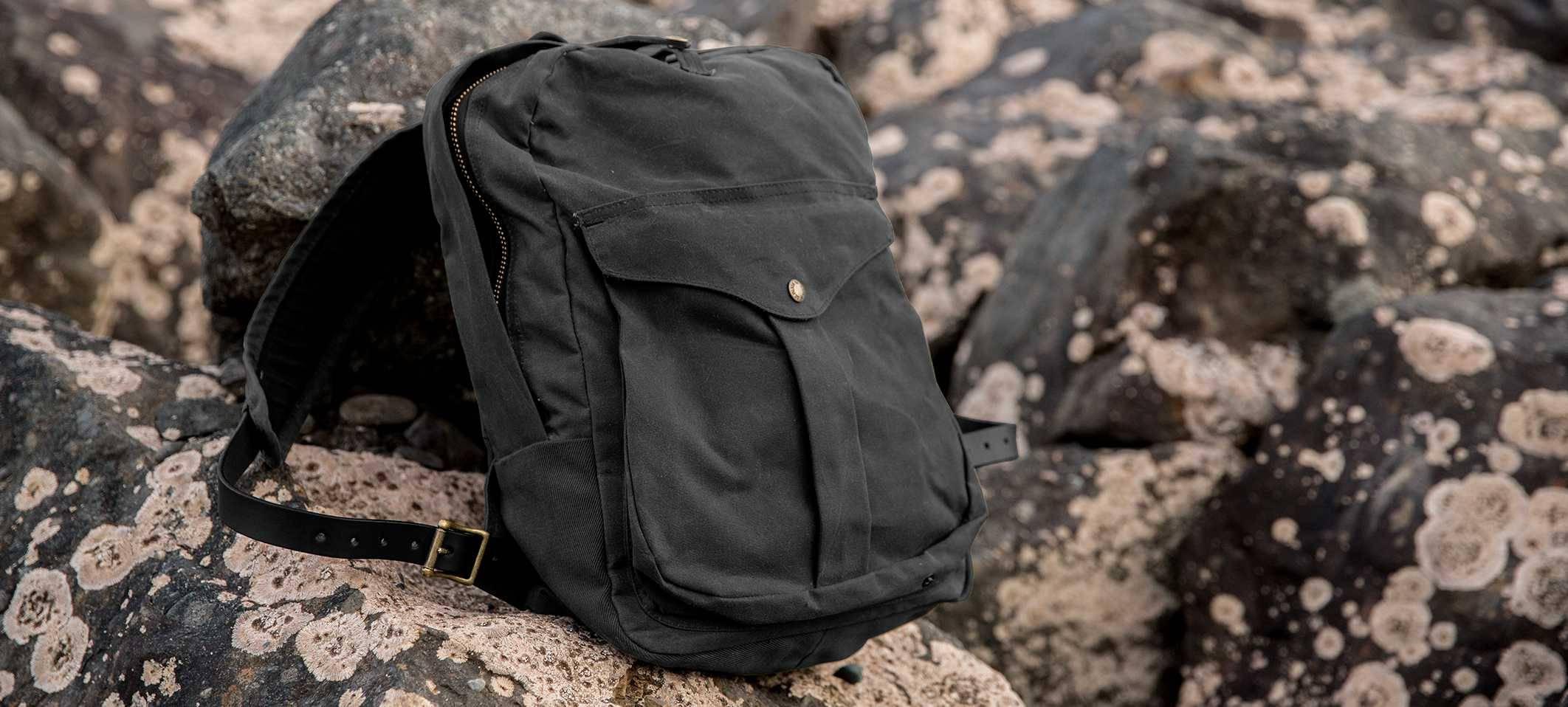 Filson Journeyman Backpack black, your ultimate travelpatrner