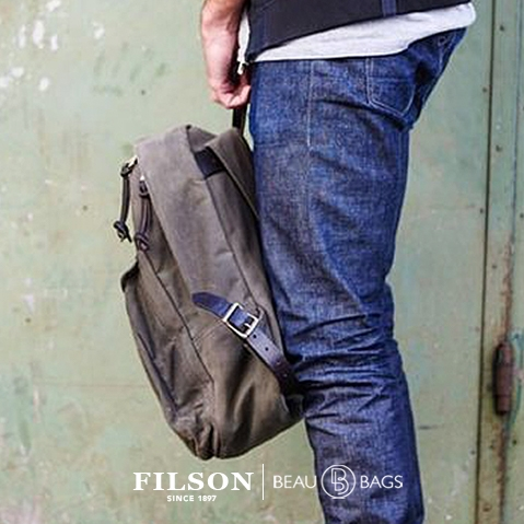 Filson Journeyman Backpack 11070307 Otter Green, a perfect backpack for use in the field or city
