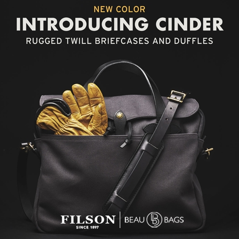 Filson Original briefcase Cinder, NEW COLOR