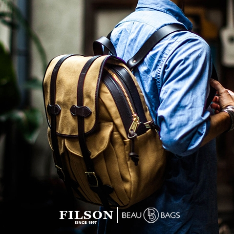 Filson Rucksack Tan 11070262 lifestyle