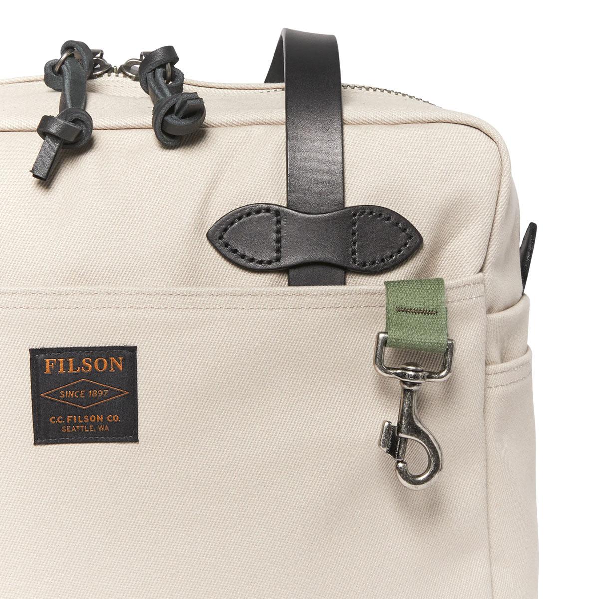 Filson Rugged Twill Tote Bag With Zipper 11070261-Twine, Tote Bag gemaakt voor mannen en vrouwen die van gemak, stijl en kwaliteit houden
