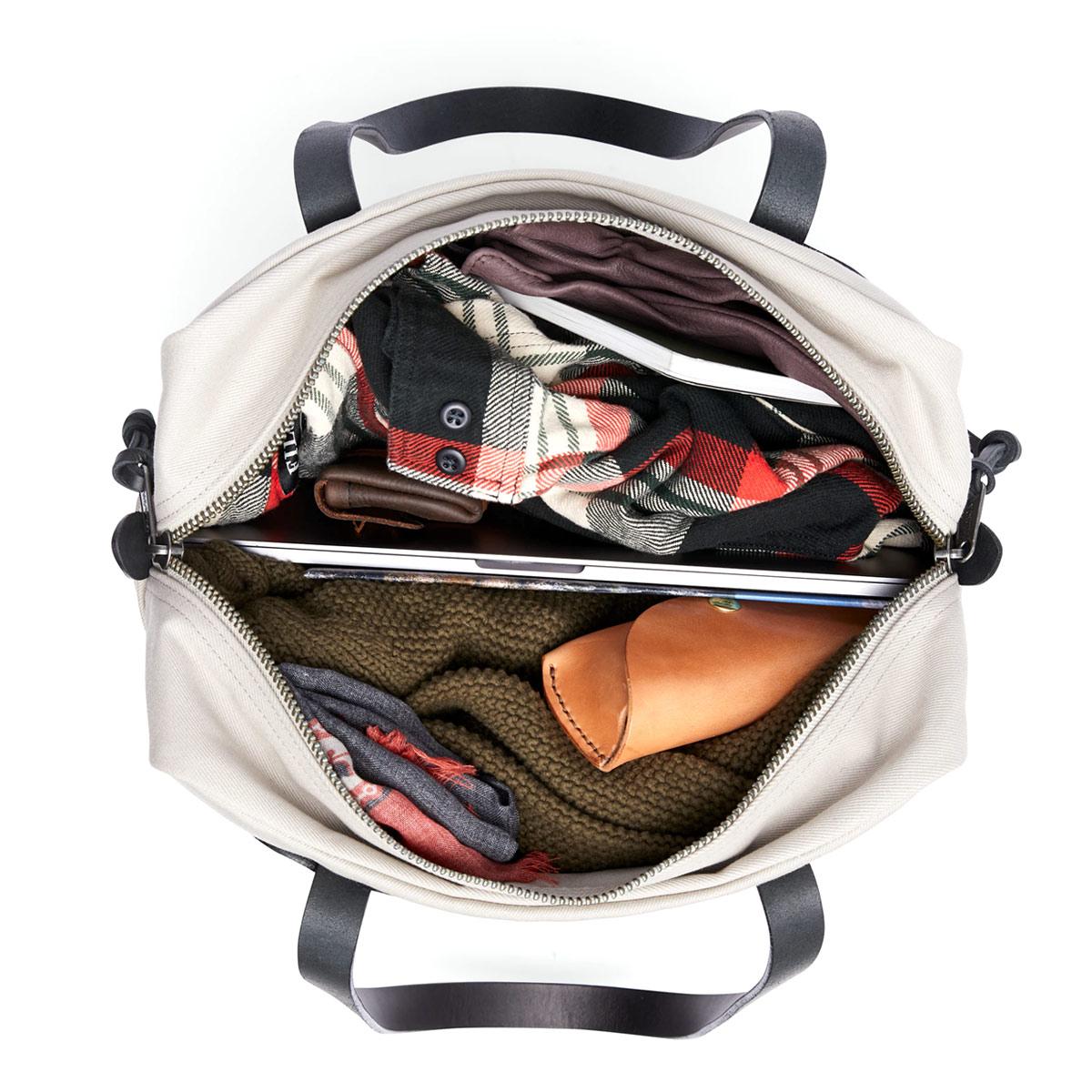 Filson Rugged Twill Tote Bag With Zipper 11070261-Twine, legendarische Tote Bag voor on the go