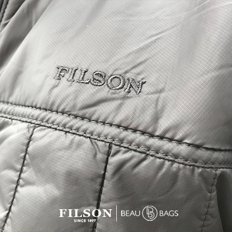 Filson Ultra Light Jacket Raven, met Cordura® Ripstop nylon en 60gm PrimaLoft® Gold insulation