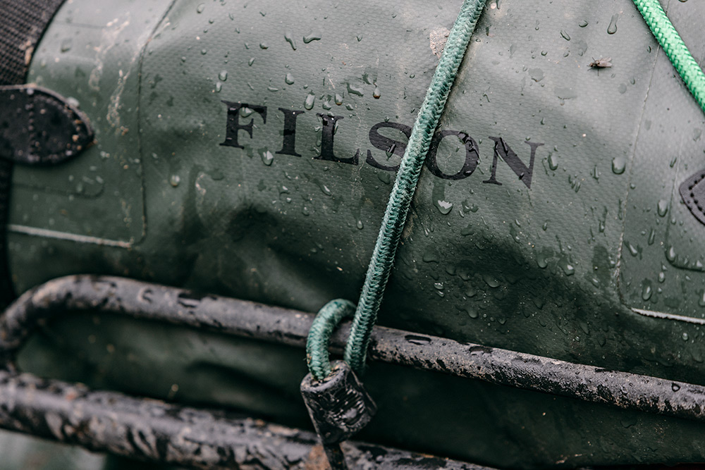 Filson Dry Duffle for all terrain