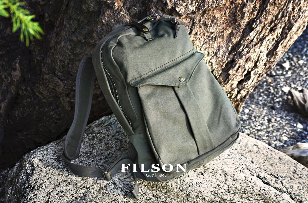 Filson Journeyman Backpack Lightweight Otter green