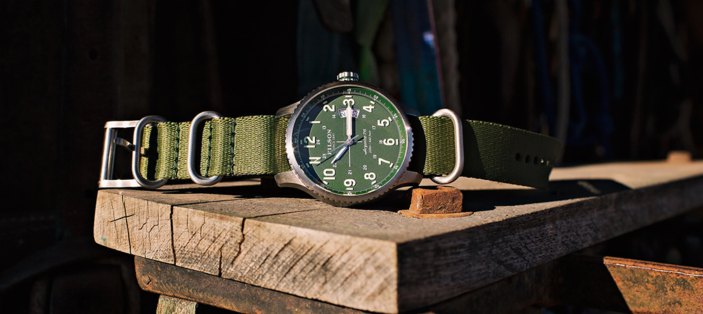 Filson Mackinaw Field Watch 10000307 Green Lifestyle