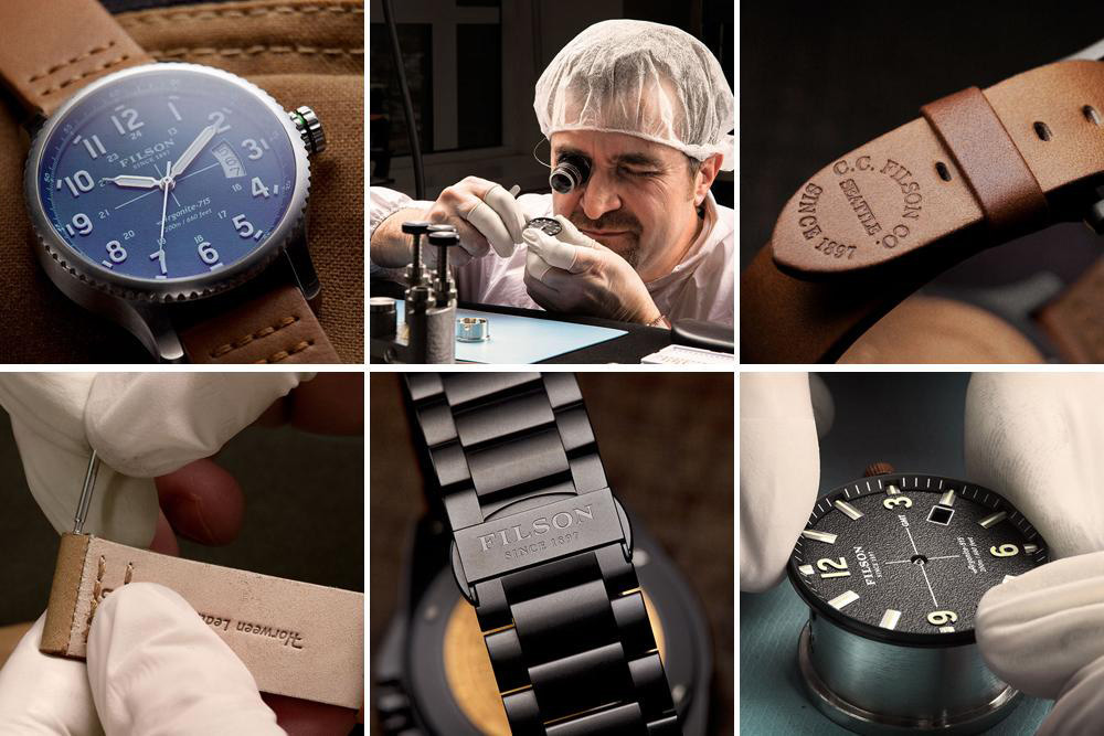 Filson Mackinaw Field Watch Watchmaker