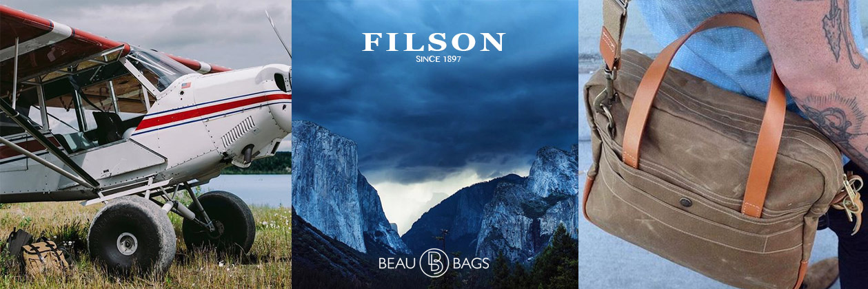 Filson Travel Bag Tan Travel in Style