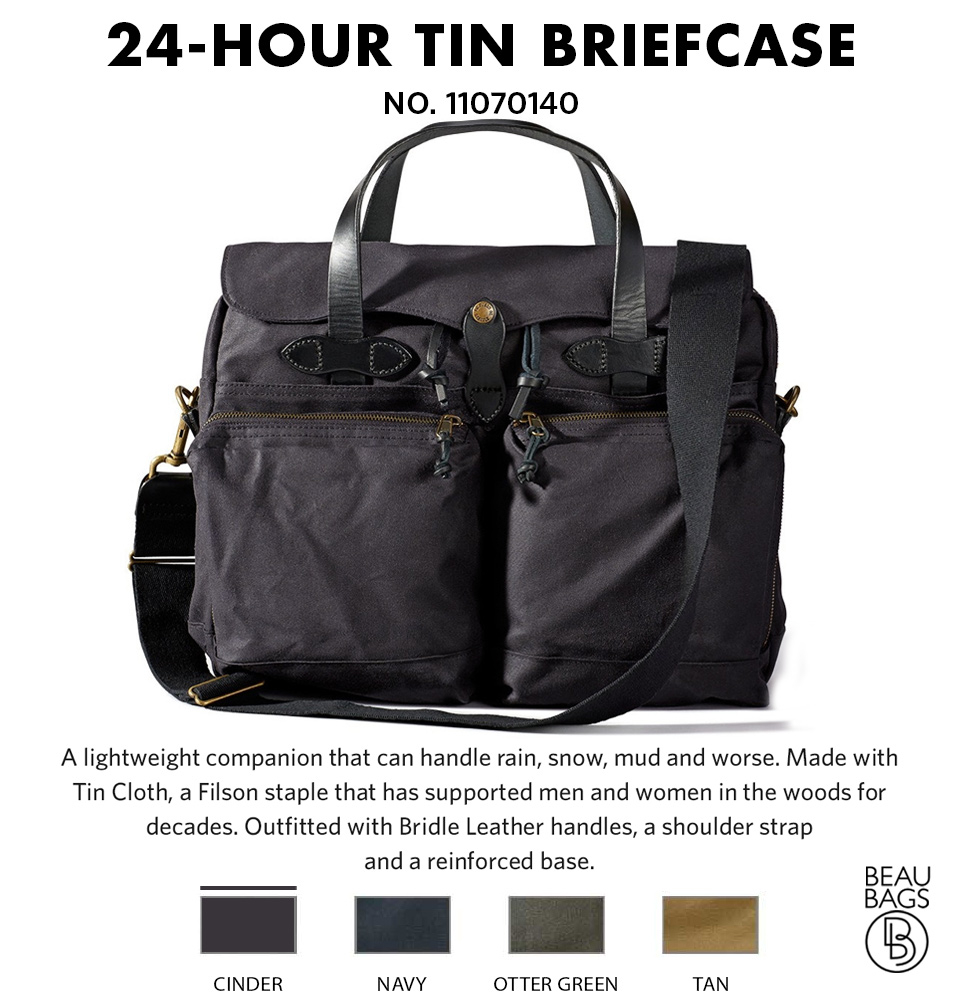 Filson-24-Hour-Briefcase-Cinder Lifestyle-on-the-road