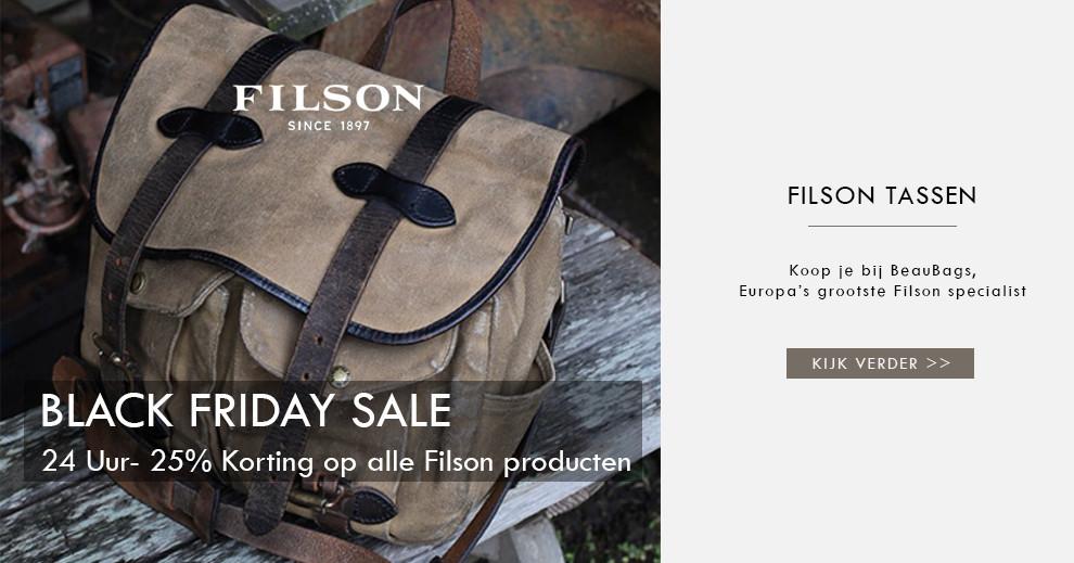 Filson tassen koop je bij BeauBags, de grootste Filson dealer van Europa