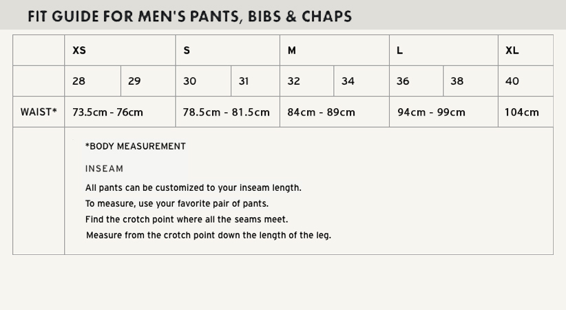 Filson Fit Guide Pants and Shorts in cm