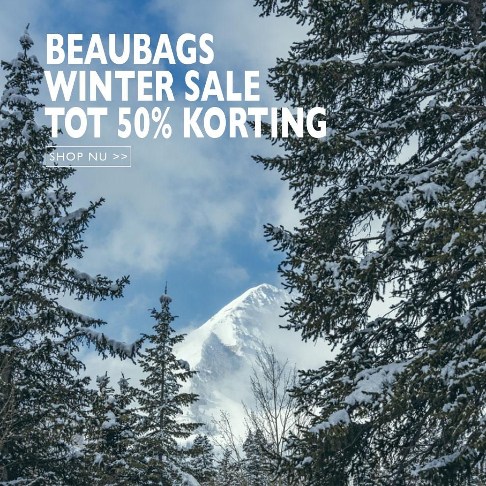 Winter sale bij BeauBags, Shop nu met grote korting