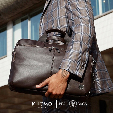 Knomo Amesbury Brown, go to work in style