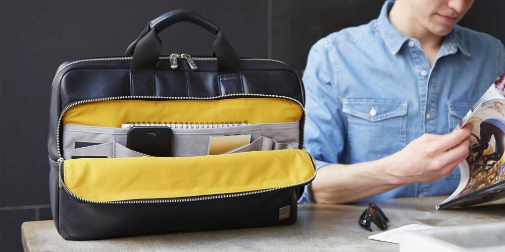 Knomo Newbury, een perfecte tas voor zakelijk en privé gebruik.