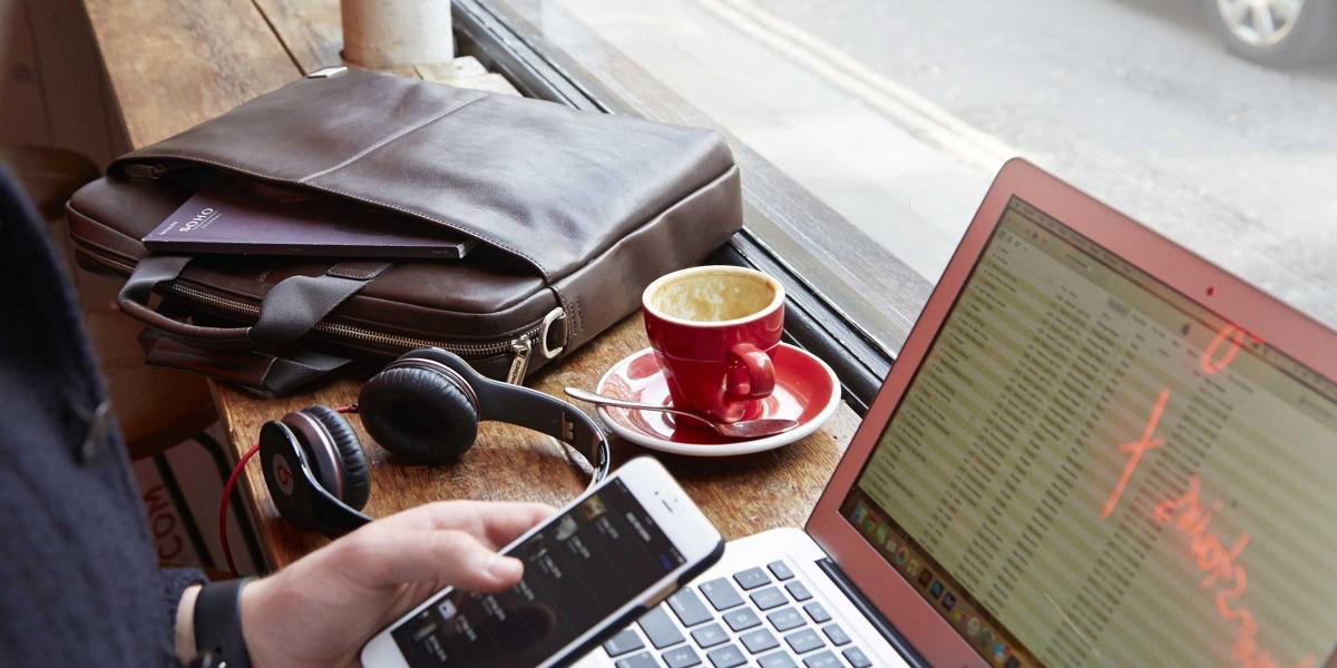 Knomo Durham Bruin, de perfecte tas voor het meenemen van je laptop en documenten