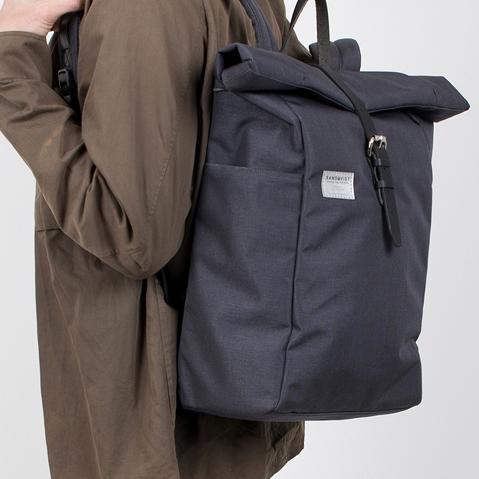 Sandqvist Silas Backpack Grey, perfecte rugtas voor dagelijks gebruik zowel op het werk als in de natuur