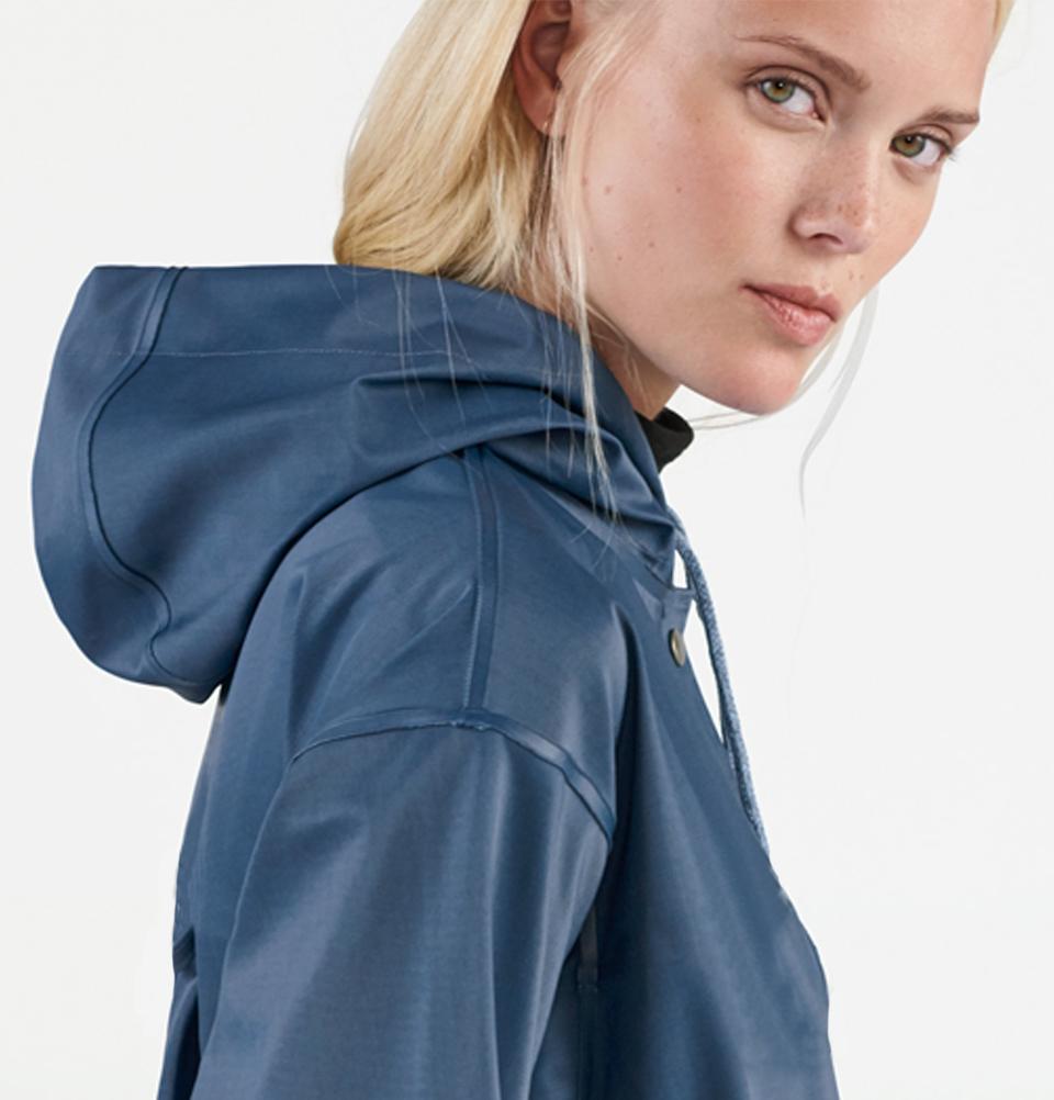 Stutterheim Stockholm DS Workwear Blue Women