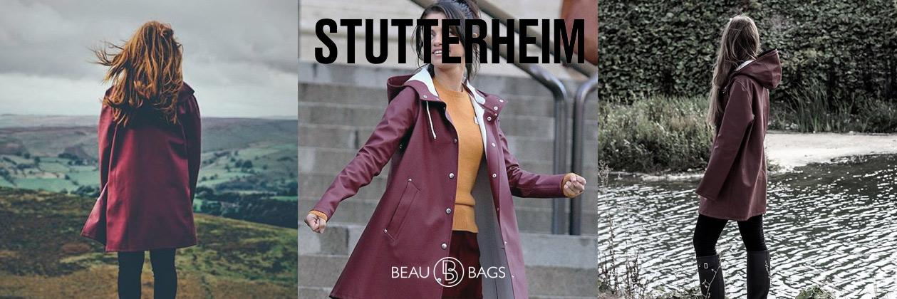 Stutterheim Mosebacke Burgundy, tijdloze functionaliteit, 100% waterdicht!