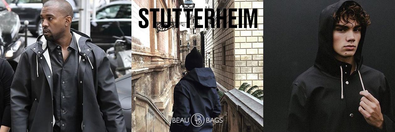 Stutterheim Stockholm Black Lifestyle