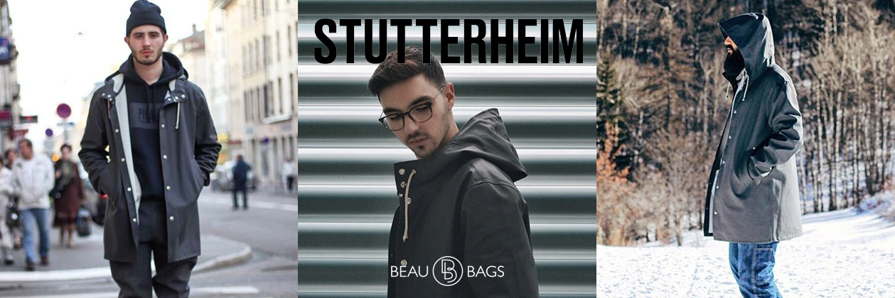 Stutterheim Stockholm Charcoal Lifestyle