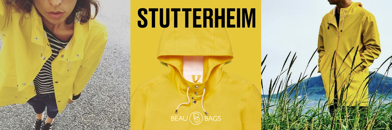Stutterheim Stockholm Pale Yellow Lifestyle