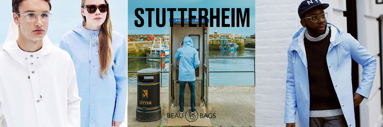 Stutterheim Stockholm Light Blue Lifestyle