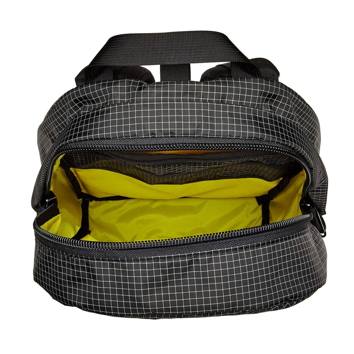 Topo Designs Daypack Black/White Ripstop, inside