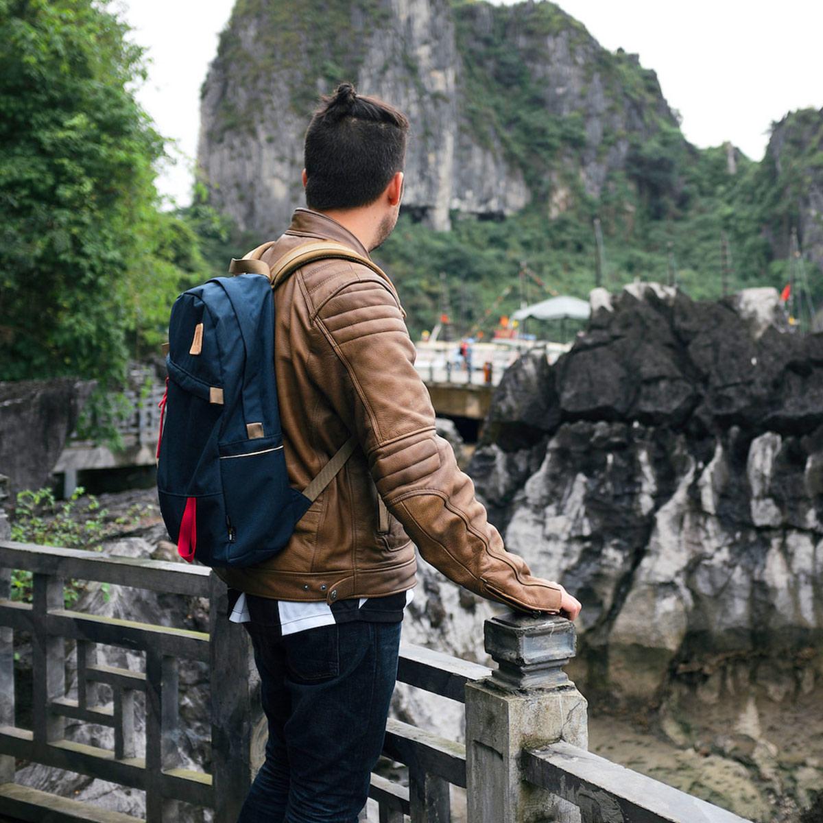 Topo Designs Daypack backpack Navy, ook op vakantie je beste vriend