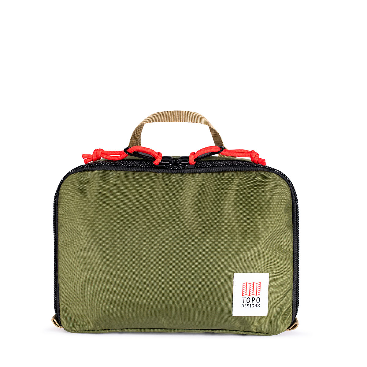Topo Designs Pack Bag 5L Olive, a simple, durable and highly functional way to organize your luggage
