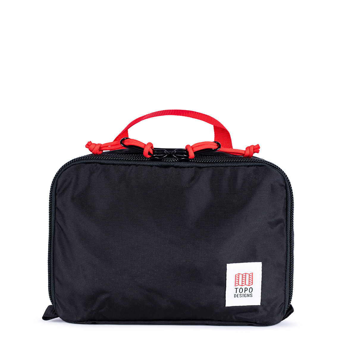 Topo Designs Pack Bag 5L Black, a simple, durable and highly functional way to organize your luggage
