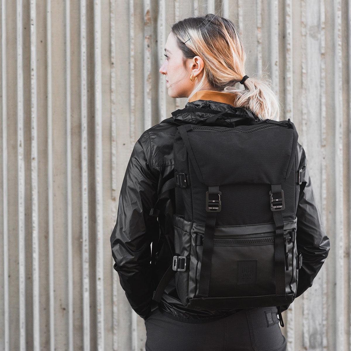 Topo Designs Rover Pack Premium Black, de ultieme rugzak voor dagelijks gebruik