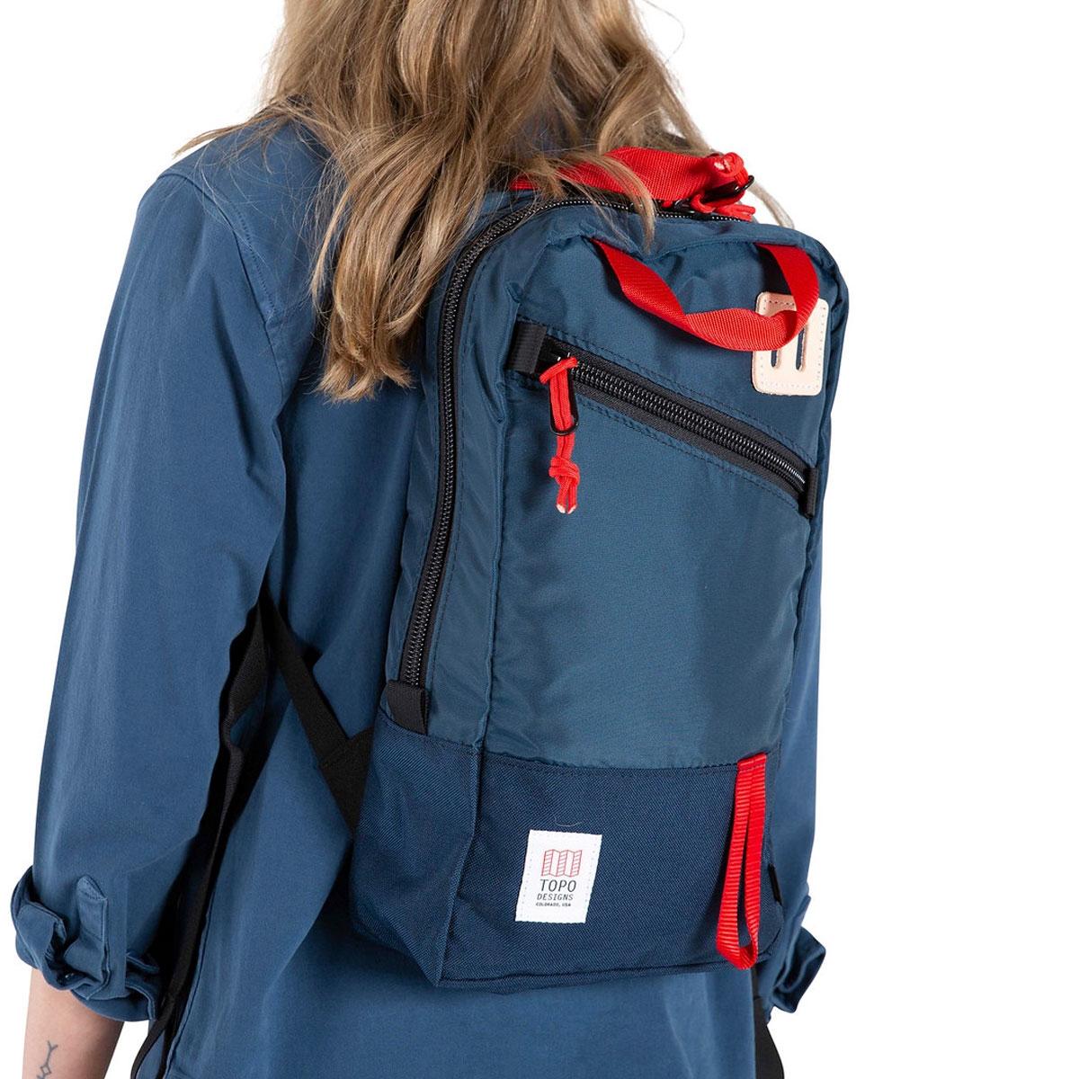 Topo Designs Trip Pack Navy, perfecte rugzak voor elke dag tocht