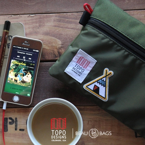 Topo Designs Accessory Bags 3 Sizes Small