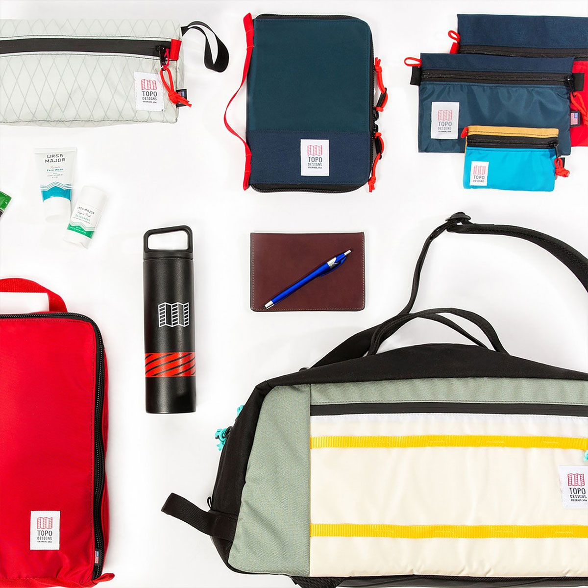 Topo Designs Global Case, A5 document case with handy functionalities