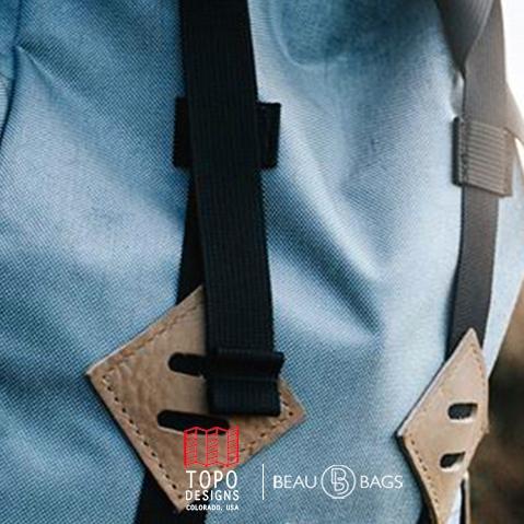 Topo Designs Klettersack Storm/Khaki-Leather