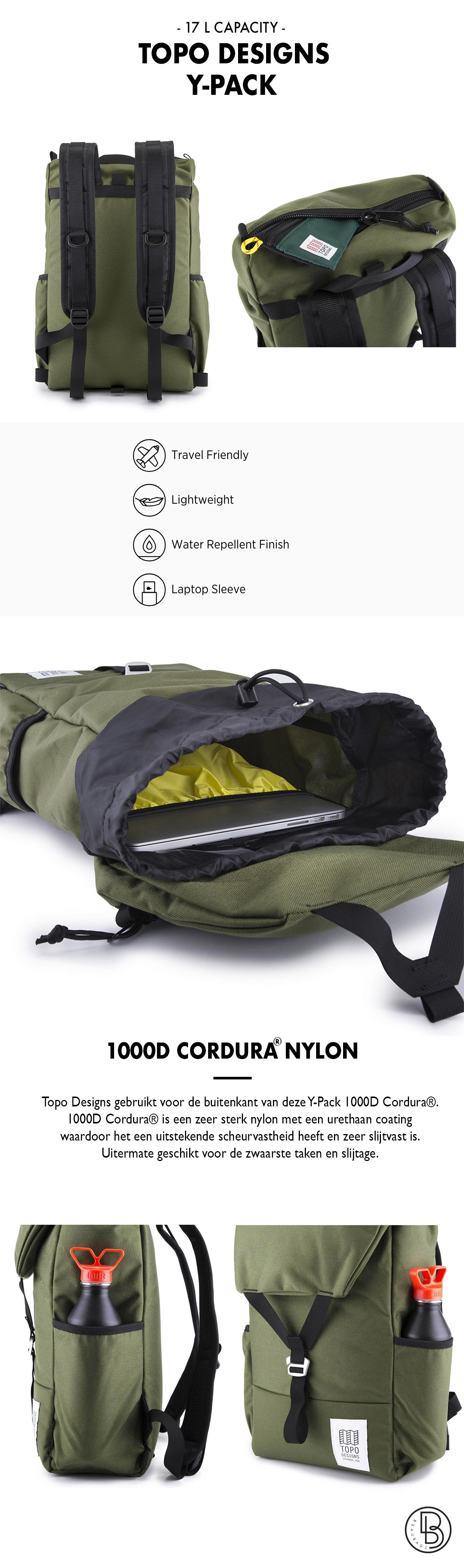 Topo Designs Y-Pack productinformatie