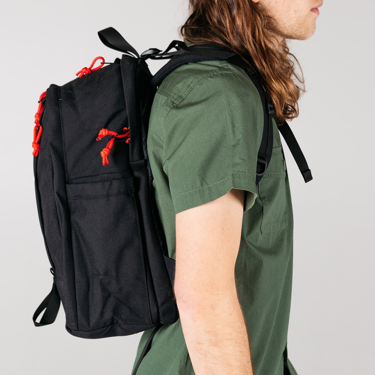 Topo Designs Core Pack Black, ideal backpack for daily use