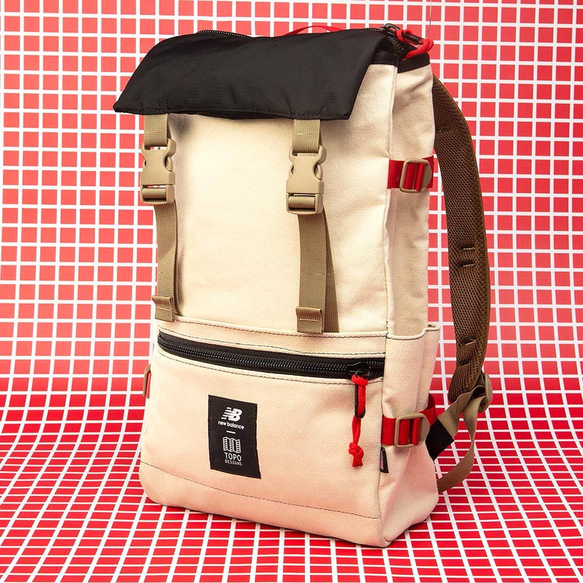 Topo Designs x New Balance Rover Pack, tijdloze rugzak met geweldige functionaliteiten