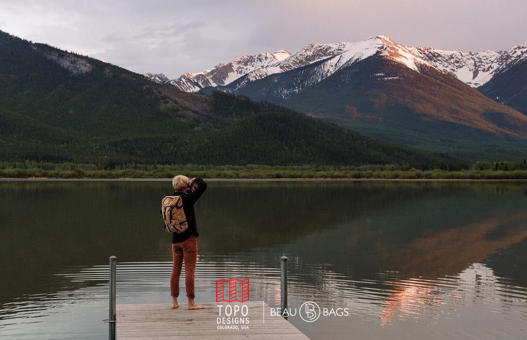 Topo Designs Klettersack Khaki Lifestyle