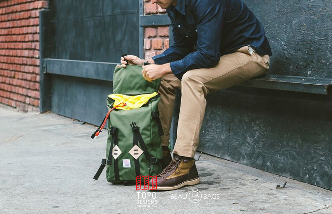 Topo Designs Klettersack Olive Lifestyle