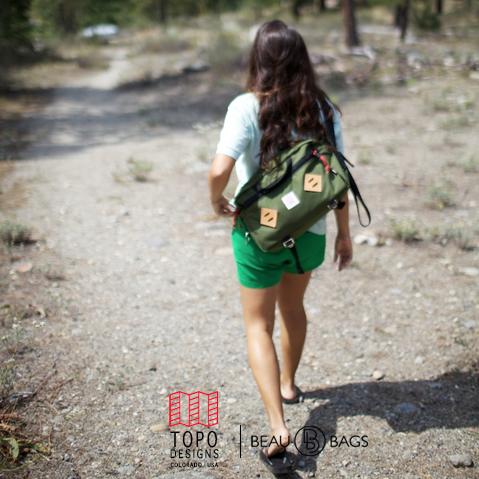 Topo Designs Mountain Briefcase Olive, de ultieme aktetas voor dagelijks gebruik
