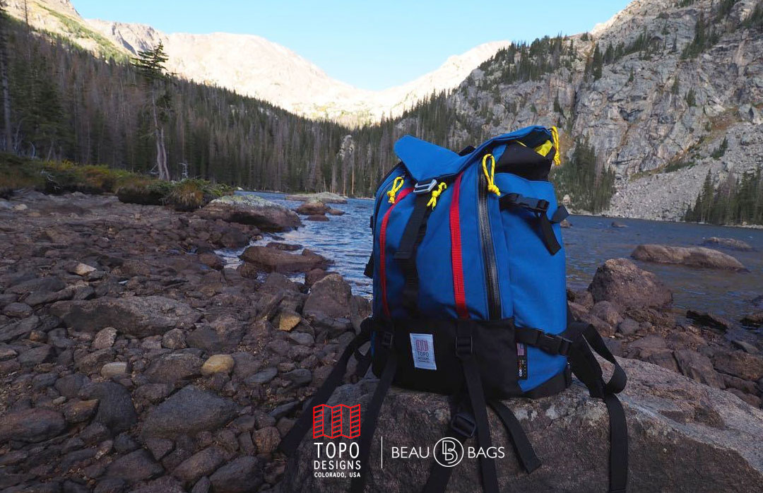 Topo Designs Mountain Pack Royal lifestyle