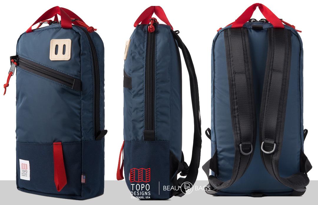 Topo Designs Trip Pack navy, perfecte rugtas voor een dagtrip