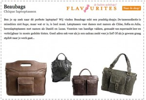 BeauBags laptoptassen op Flavourites
